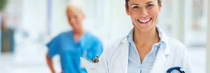 female smiling doctor